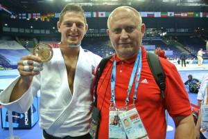 Krpalek s trenerem Ajsou