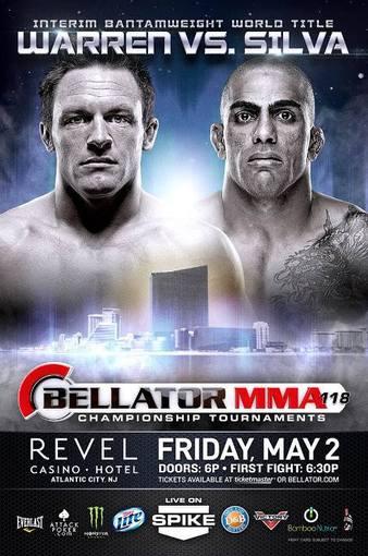 Bellator_118_Warren_vs._Silva_Poster