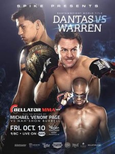Bellator_128_Dantas_vs._Warren_Poster