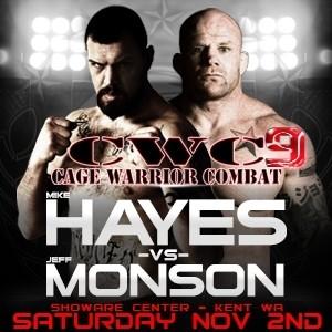Cage_Warrior_Combat_9_Poster