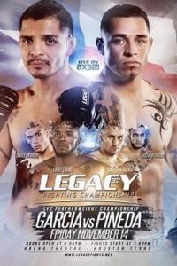 Legacy_FC_37_Garcia_vs._Pineda_Poster