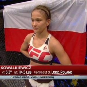 MMA 08-05a Karolina Kowalkiewiczova