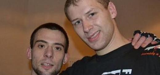 MMA 21-10 Stanislav Furea vpravo