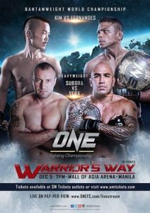 ONE_FC_23_Warrior's_Way_Poster