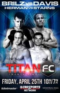 Titan_FC_28_Magalhaes_vs._Brilz_Poster