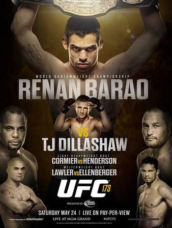 UFC_173_Barao_vs._Dillashaw_Poster
