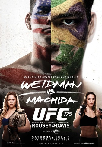 UFC_175_Weidman_vs._Machida_Poster