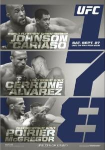 UFC_178_Johnson_vs._Cariaso_Poster