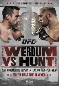 UFC_180_Werdum_vs._Hunt_Poster