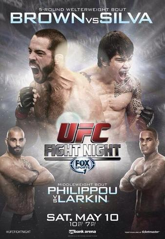 UFC_Fight_Night_40_Brown_vs._Silva_Poster