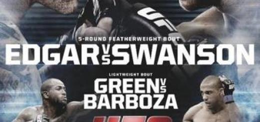 UFC_Fight_Night_57_Edgar_vs._Swanson_Poster