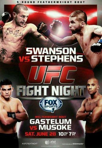 UFC_Fight_Night_Swanson_vs__Stephens_Poster