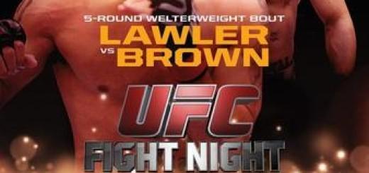 UFC_on_FOX_12_Lawler_vs._Brown_Poster